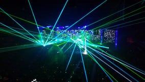 De laser toont Stock Foto's