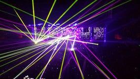 De laser toont Stock Foto