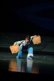 De last overwint Jiangxi-opera een weeghaak Royalty-vrije Stock Afbeeldingen
