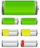 De last van de batterij Royalty-vrije Stock Foto