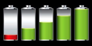 De lastenstadium van de batterij royalty-vrije illustratie