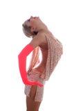 De Latijnse danser van de blonde Royalty-vrije Stock Fotografie