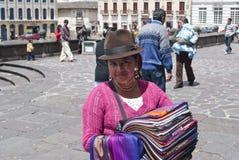 De Latijnse vrouw Royalty-vrije Stock Afbeelding