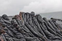 De Lava van Hawaï Royalty-vrije Stock Afbeeldingen