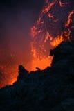 De lava van Vulcan Royalty-vrije Stock Afbeelding