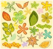 De lay-out van de herfst Royalty-vrije Stock Fotografie