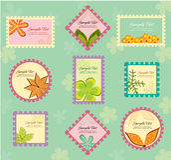 De lay-out van de herfst Royalty-vrije Stock Foto's