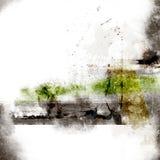 De lay-out van Grunge voor tekst 2 Stock Afbeeldingen