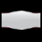 De Lay-out van het Etiket van de Fles van het product Stock Foto