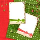 De lay-out van Kerstmis Royalty-vrije Stock Foto
