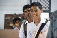 De leerlingen van Sri Lanka Stock Afbeelding