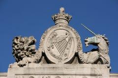 De leeuw en de Eenhoorn Royalty-vrije Stock Foto
