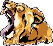 De leeuw had stock illustratie