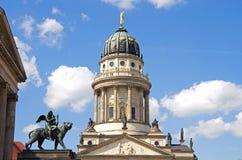 De leeuw van Berlijn gendarmenmarkt stock afbeeldingen
