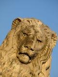 De leeuw van de rots Royalty-vrije Stock Foto's