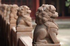 De leeuw van de steen Royalty-vrije Stock Foto's