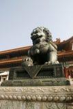 De leeuw van de steen Stock Fotografie
