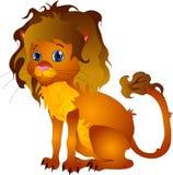De leeuw van het beeldverhaal vector illustratie