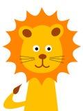 De leeuw van het beeldverhaal royalty-vrije illustratie
