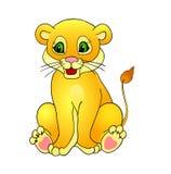 De leeuw van het beeldverhaal, Stock Afbeelding