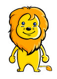 De leeuw van het beeldverhaal Stock Afbeeldingen