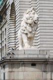 De Leeuw van Southbank Stock Fotografie