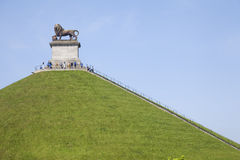 De Leeuw van Waterloo Stock Afbeeldingen