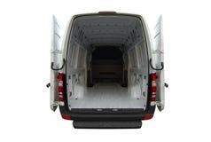 De lege bestelwagen van de Sprinter van Mercedes Royalty-vrije Stock Foto's