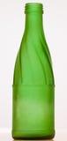 De lege Fles van het Bier van het glas Stock Fotografie