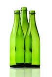 De lege Flessen van het Glas Stock Afbeelding