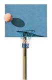 De lege Hoepel van het Basketbal Stock Afbeeldingen
