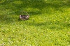De lege mand van Pasen op het gras Stock Foto