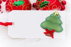 De lege Markering van de Gift Stock Foto