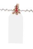 De lege Markering van Kerstmis   royalty-vrije stock afbeelding