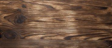 De lege nota van het plaat houten etiket over oude houten achtergrond Stock Foto's