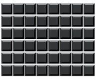 De lege sleutels van het computertoetsenbord Royalty-vrije Stock Fotografie