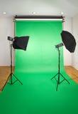 De lege Studio van de Foto Stock Foto's