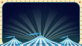 De Lege Vector van de circusaffiche Uitstekende Magisch toont markttent Vakantiegebeurtenissen en Vermaakconcept Illustratie royalty-vrije illustratie