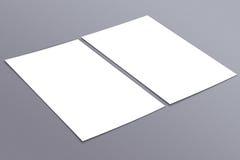 De lege witte 4x8 inzameling van de duimvlieger - 24 Stock Afbeeldingen