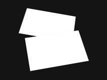 De lege witte 4x8 inzameling van de duimvlieger - 33 Royalty-vrije Stock Foto