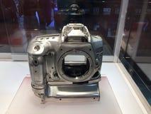 De legering van het prototypemagnesium van de camera van Canon D1 stock afbeeldingen
