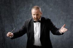 De Leider van de symfonie Stock Foto's