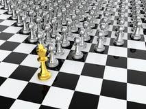 De leider van het schaak Stock Fotografie