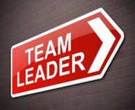 De leidersconcept van het team Stock Fotografie