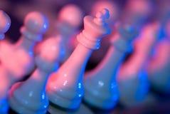 De Leiding van het schaak Stock Fotografie