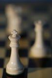 De Leiding van het schaak Stock Foto's