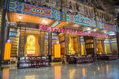 De Lek tempel van Si van Kok Stock Foto's