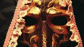 De lengte van het maskertheater hd stock video