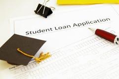 De lening app van de student Royalty-vrije Stock Foto's