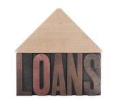 De leningen van het huis Stock Foto